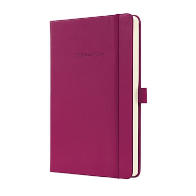 Sigel Hardcover Graph Notebook - A5 Journal Size with Elastic Closure (SGA5HES-WP)
