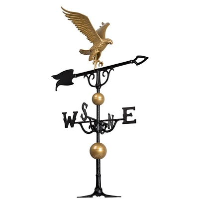 46  Eagle Weathervane - Gold-Bronze (Whitehall Products) 00428
