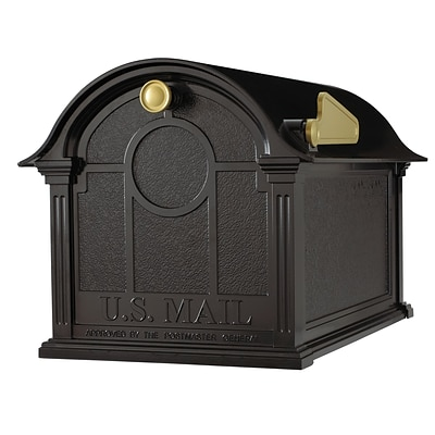 Whitehall Products Balmoral Mailbox  - Black 16228