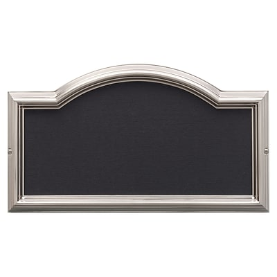 Design-it 4 Arch Plaque Brushed Nickel (Whitehall Products) 11201