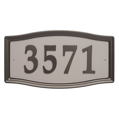 Easy Street Address Sign (Whitehall Products) 11198