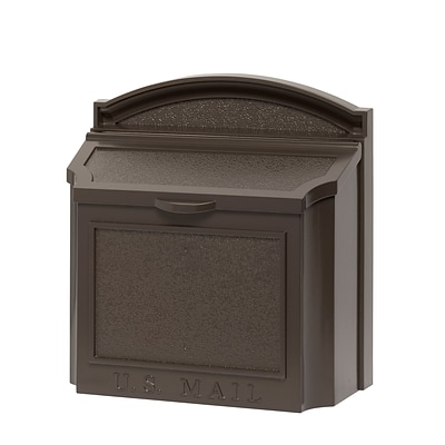 Whitehall Products Wall Mailbox -  Bronze 16138