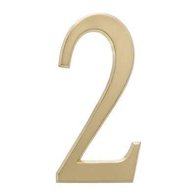 4.75 Number 2 Satin Brass (Whitehall Products) 11212