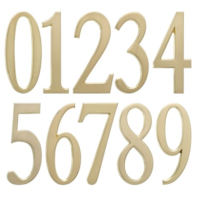 4.75 Number 0 Satin Brass (Whitehall Products) 11210