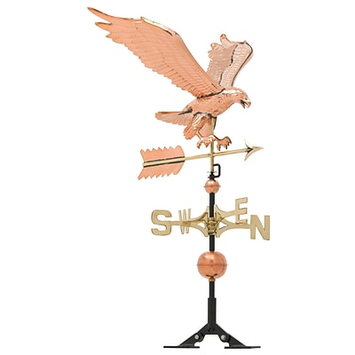Copper Eagle Weathervane - Polished (Whitehall Products) 45039