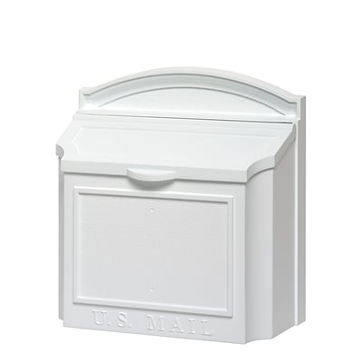 Whitehall Products Wall Mailbox - White 16139