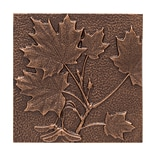Maple Leaf Wall Décor - Antique Copper (Whitehall Products) 10243