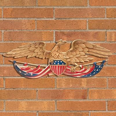 24  Patriotic Wall Eagle - Color (Whitehall Products) 00752