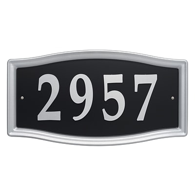 Easy Street Address Sign (Whitehall Products) 11199