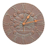 Times & Seasons Clock-Copper Verdigris (Whitehall Products) 1290