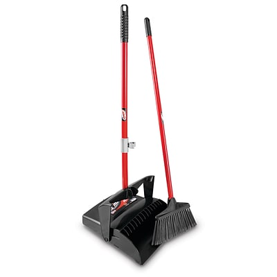 Libman Broom with Dustpan, 2/Carton (919)