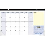 2020 AT-A-GLANCE 18 x 11 Compact Monthly Desk Pad Calendar QuickNotes (SK710-00-20)