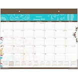 2020 AT-A-GLANCE 22 x 17 Monthly Desk Pad Calendar Suzani (SK17-704-20)