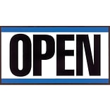 Cosco Open/Closed Outdoor Sign, 11.6L x 6H, Multicolor (098013)
