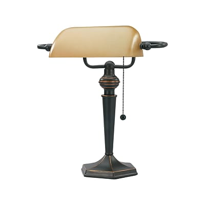 V-Light Incandescent Desk Lamp, 16, Oil Rubbed Bronze (CAVS91045BRZ)