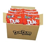 Dum Dums Original Lollipops, Assorted, 32 Oz., 200 Lollipops/Bag, 6 Bags/Carton (071-1)