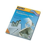 Apollo Uncoated Transparency Film, 8.5 x 11, 100/Box (PP100CE)