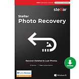 Stellar Photo Recovery Standard for 1 User, Windows, Download (SPRSWV92018)