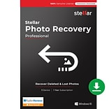 Stellar Photo Recovery Professional for 1 User, Windows, Download (SPRPROV92018)