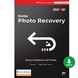 Stellar Photo Recovery Standard for 1 User, Mac, Download (SPRSMV92018)