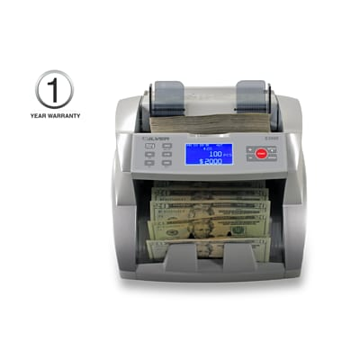 SILVER by AccuBANKER S3500 Flex Bill Counter (AB3500)