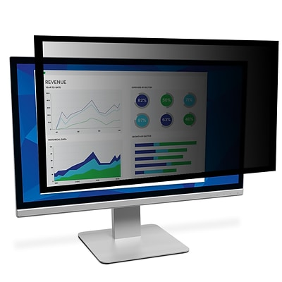 3M™ Framed Privacy Filter for 24 Widescreen Monitor (16:9) (PF240W9F)