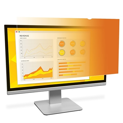 3M™ Gold Privacy Filter for 22 Widescreen Monitor (16:10) (GF220W1B)