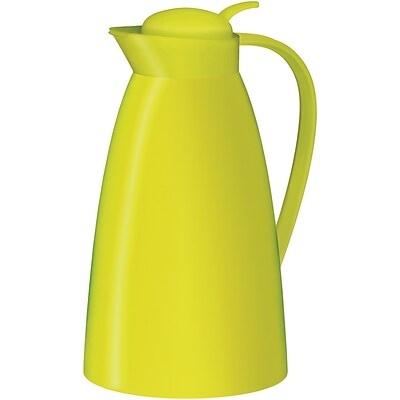 Alfi 33.6 oz. Frosted-Plastic Vacuum-insulated Carafe, Apple Green (THRAG2800GR2)