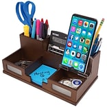 Declutter your desktop with this  desk organizer to ensure you can always find what you need when yo