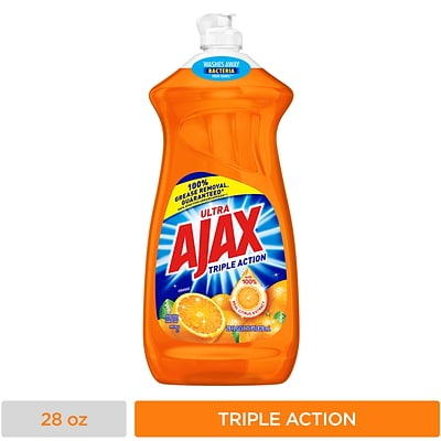 Ajax Triple Action Dish Soap Liquid, Fruity Scent (44678)