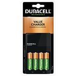 Duracell Ion Speed 1000 Value Battery Charger, Includes 4 AA NiMH Batteries (CEF14)