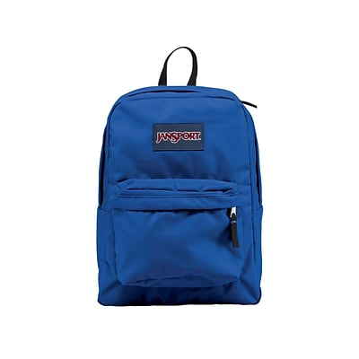 check out 690db c1c48 JanSport SuperBreak School Backpack, Solid, Blue (JS00T5015CS)   Quill.com