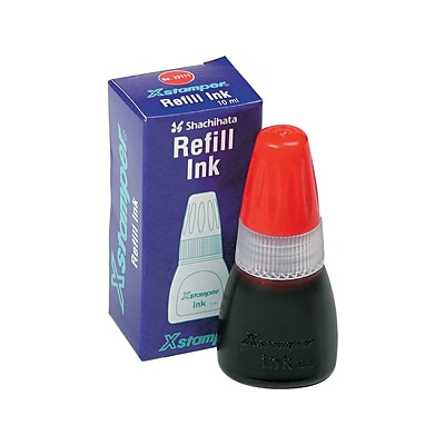 Xstamper Ink Refill, Red Ink (036037)