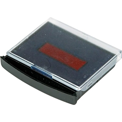2000 Plus Stamp Pad, Blue and Red Inks (061961)