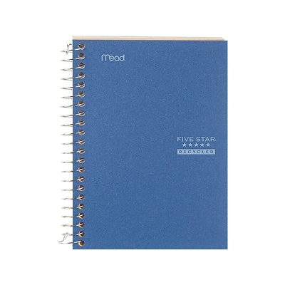 Five Star Memo Notebook, 5 x 7, College Ruled, 96 Sheets, Assorted Colors (45616)