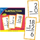 Carson-Dellosa Subtraction All Facts through 12 Flash Cards, 170/Set (134054)