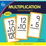 Carson-Dellosa Multiplication All Facts through 12 Flash Cards, 170/Set (134055)