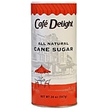 Café Delight All Natural Cane Sugar, 20 oz Canister (MLY00262422)