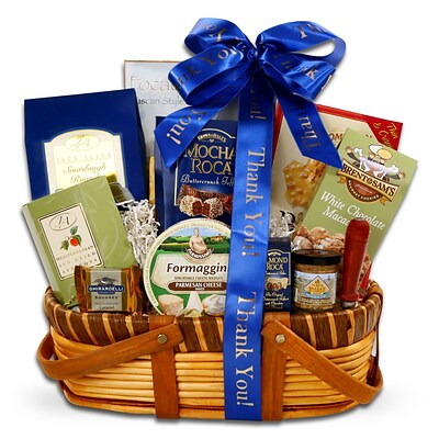 Alder Creek Gift Baskets Gourmet Thank You Greetings Gift (FG07196)