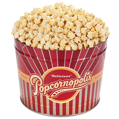 Popcornopolis Gourmet 2 Gallon Tin, Kettle (DS1371)