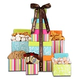 Alder Creek Gift Baskets Thank You Treats Tower (FG07189)