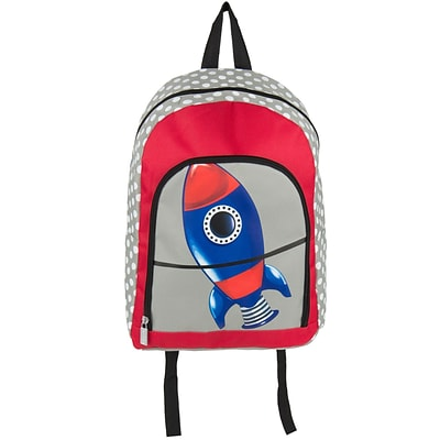 Elementary Kindergarden Kids Back to school bag Backpack,Rockets