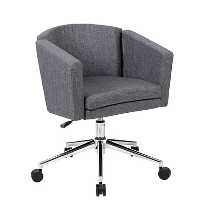 Boss® Metro Club Desk Task Chair; Slate Grey