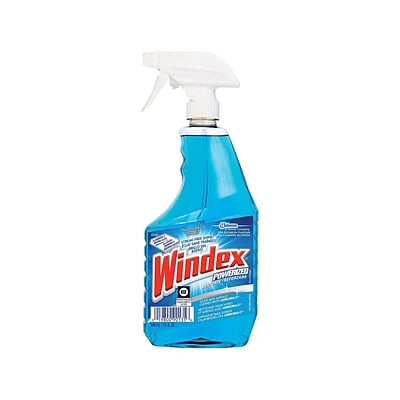 Windex Window & Glass Cleaners, No Scent, 32 Oz., 12/Carton (687374CT)