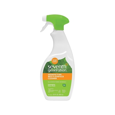 Seventh Generation All-Purpose Cleaner, Lemongrass Citrus, 26 Oz. (22810)