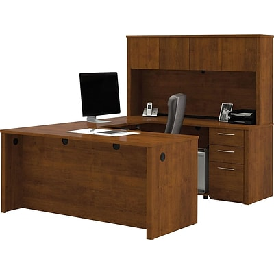 Bestar Embassy 66 U Shaped Desk, Tuscany Brown (60857 63)