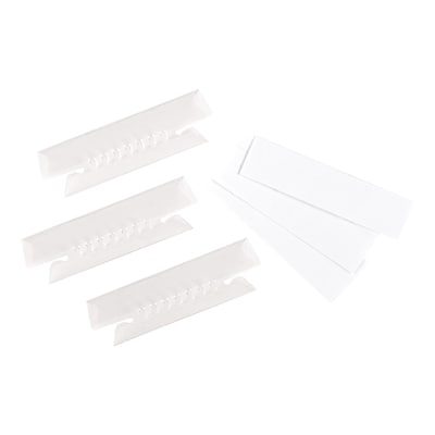 Pendaflex Hanging Folder Tabs, 3.5 x 26.5, Clear, 25/Pack (ESS4312)