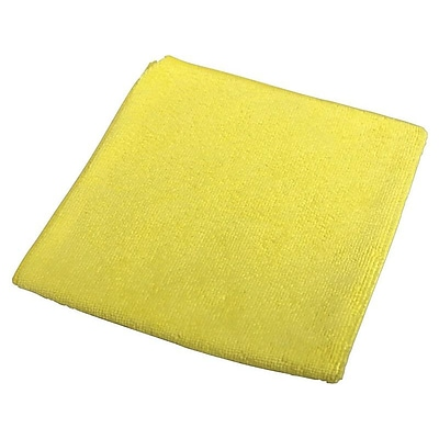 Impact Microfiber Dry Cloths, Yellow, 12/Pack (LFK700)