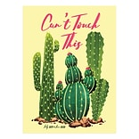 July 2019 - June 2020 TF Publishing 7.5 x 10.25 Medium Monthly Planner, Cant Touch Cactus (20-420