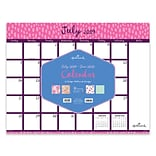 July 2019 - June 2020 TF Publishing 22 x 17 Large Desk Pad Monthly Calendar, Pretty Patterns (20-8
